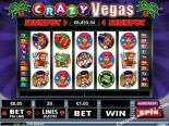 machines à sous Crazy Vegas RealTimeGaming